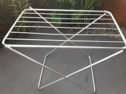 Varal de chão de alumínio