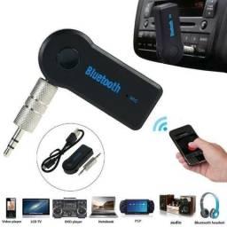 Adaptador Bluetooth P2 Auxiliar Musicas Viva Voz Com Bateria