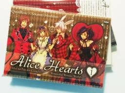 Mangás Alice Hearts (vol. 1,2,3 e 4)