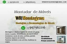 Montador de móveis residencial /comercial