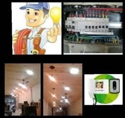 Eletricista,Gesseiro forista,Pintor