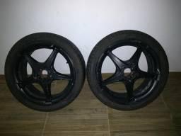 Rodas 18, com pneus ótimos
