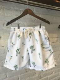 Shorts estilo praia