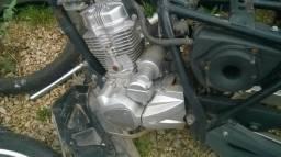 Sundown Max 125 motor parcial fechado com cabeçote Baixado Detran com NF em seu nome