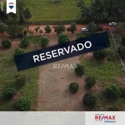 Chácara plana e escriturada à venda em Álvares Machado, com 1.018m²