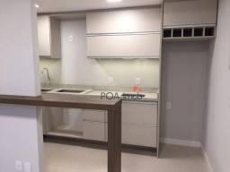 Apartamento com 2 dormitórios para alugar, 76 m² por R$ 3.300,00/mês - Petrópolis - Porto
