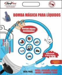Título do anúncio: Mangueira Com Bomba Para Transferencia De Liquidos Magiflux