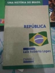 República / uma história do Brasil.( Usado excelente estado)