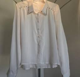 Camisa Branca Clock House