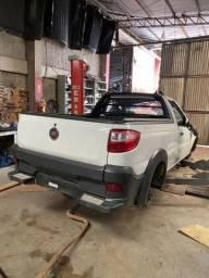 Sucata para retirada de peças- Fiat Strada 2014