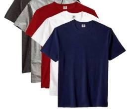 Camisetas lizas  em atacado .