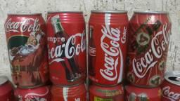 Latinhas retrô Coca-Cola