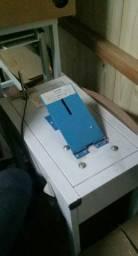 Maquina fabricar chinelos e  prensa para sublimaçao de brindes