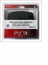 Teclado Wireless para Playstation 3 Original Sony - Novo e Lacrado