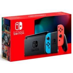 Console Nintendo Switch 32GB modelo novo Extend Baterry Neon
