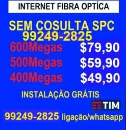 Título do anúncio: internet fibra optica