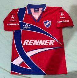 Camisa Umbro Nacional do Uruguai 1996 P