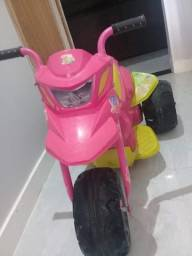 Moto Elétrica Bandeirante XT3 Fashion 6V - Rosa (Semi nova)
