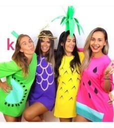 Vestido Blusão Fruta