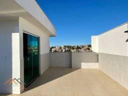Cobertura com 3 quartos à venda, 120 m² por R$ 355.000 - Planalto - Belo Horizonte/MG