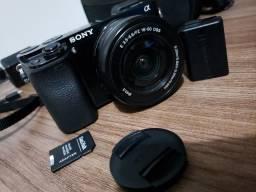 A6000 + lente do kit