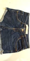 Short Jeans ZINCO Denim Semi-Novo