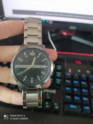 Relógio de aço inoxidável Armani Exchange