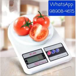 Balança Digital Precisão 1g À 10kg Branca