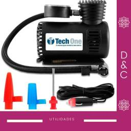 Mini Compressor Automotivo 12v 300 PSI portatil (Tech One)
