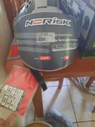 Capacete Norisk zero sem uso tam 56