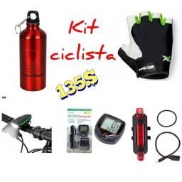 Kit básico , ciclista
