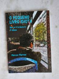Título do anúncio: O pequeno livro idiota - que in-tr(a)duziu(o) O idioma - Marcos Marrom