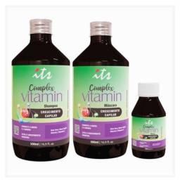Kit Crescimento Capilar Complex Vitamin<br><br>