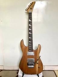 Guitarra montada leia tudo