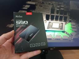 HD ssd Netac 120GB/240GB/480GB Sata 3 (Com Garantia)