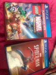 Vendo jogo LEGO MARVEL ps4