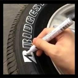 Título do anúncio: Caneta market paint para pintar letra pneu