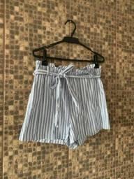 Short cintural alta