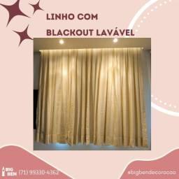 Título do anúncio: Linho com Blackout lavável 08