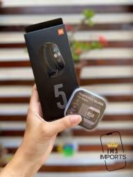 Última unidade - Xiaomi Mi Band 5 Original + Película 3D