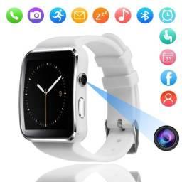 Título do anúncio: smartwatch tela curva com bluetooth android e ios