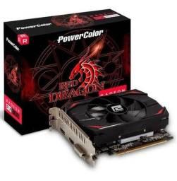 Título do anúncio: Placa de vídeo Radeon rx 550