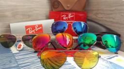 Óculos Rayban 3025 tamanho 58-Motoboy em toda região