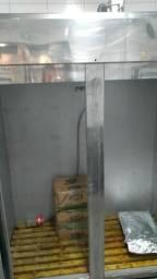 Mini Câmara Para Açougue 2400 L Inox Frilux