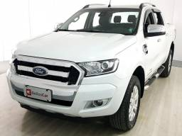 Ford Ranger Limited 3.2 20V 4x4 CD Aut. Dies. - Branco - 2018 - 2018