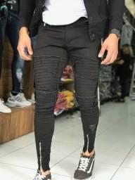 Camisetas long calças bermudas