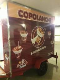 Trailer Food Truck equipado. PRONTO P/ TRABALHAR