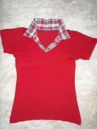 Camisa gola Pólo