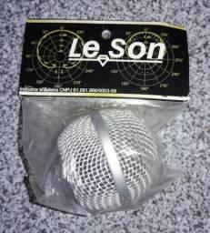 Globo p/ Microfone Leson champanhe
