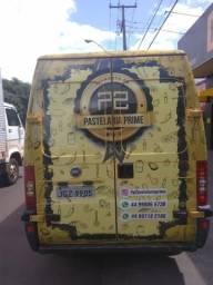 Vendo ou troco, Van Fiat Ducato Maxi, pronta para trabalho em Food Truck - 2006